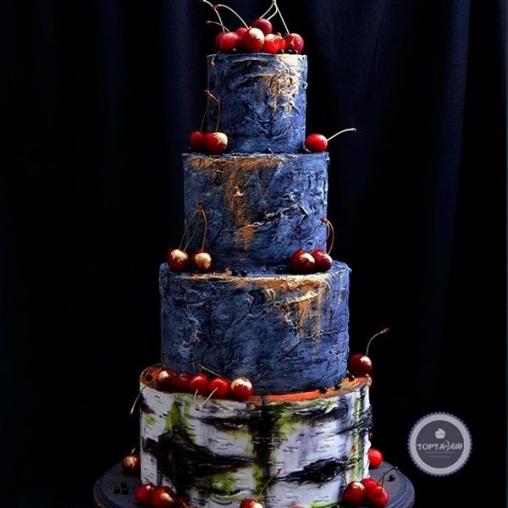 Торт для мужчин Твоя вишенка