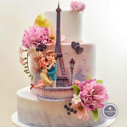 Свадебный торт Эйфель