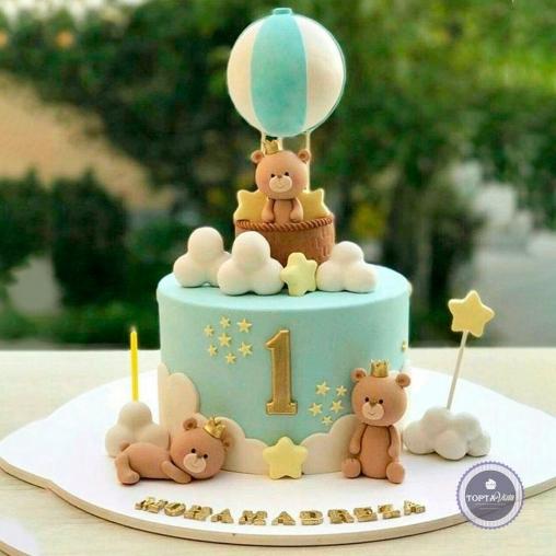 Детский торт - В облаках