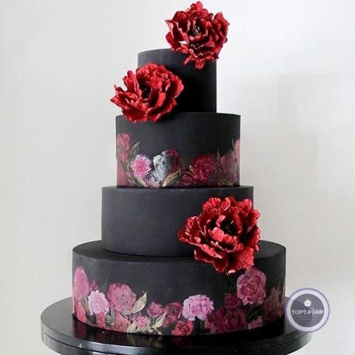 Свадебный торт Гавайи