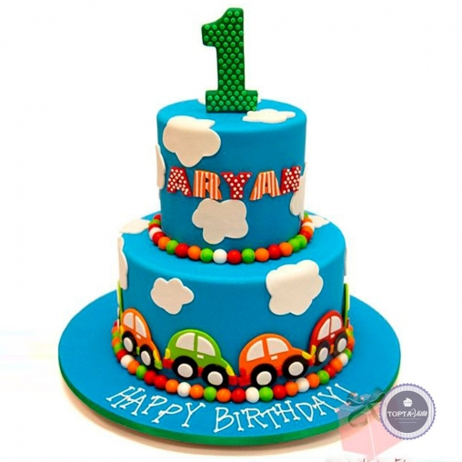 Детский торт - 1 место