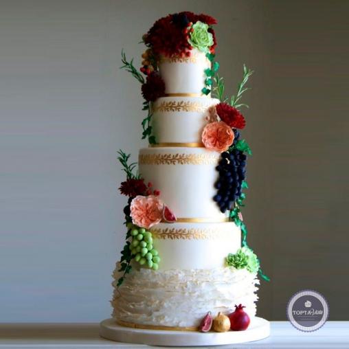 Свадебный торт - Сицилийка