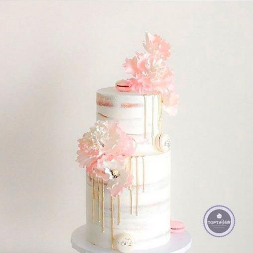 Свадебный торт Снежка