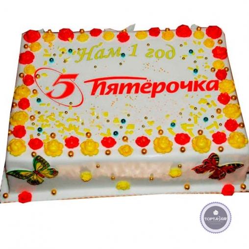Корпоративный торт 5+