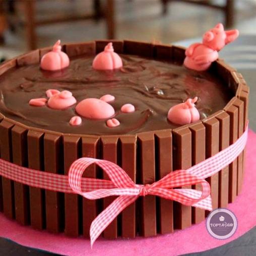 Детский торт Шоколадка