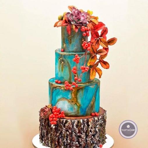Торт для женщин Рябинка