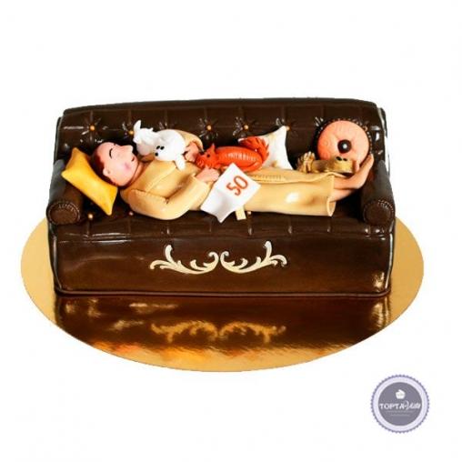 Торт для мужчин Мой диван
