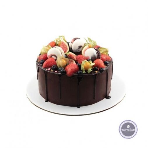 Торт без мастики Маркиза