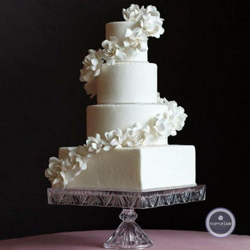 Свадебный торт - Лукум