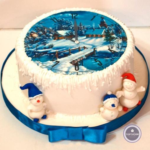 Новогодний торт - Встреча Нового года