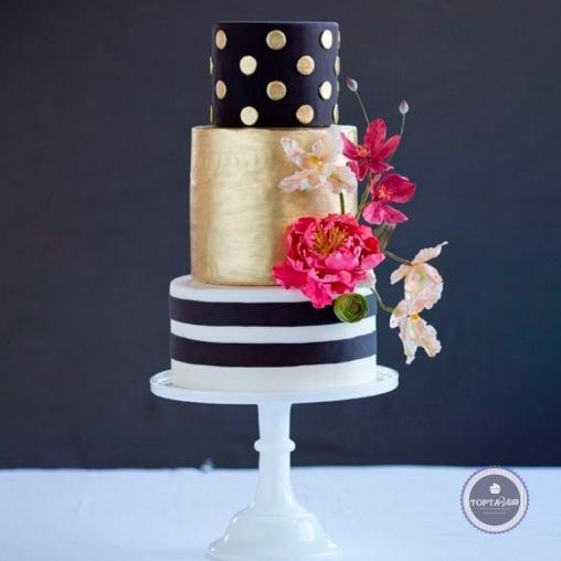 Свадебный торт - Крассула