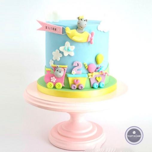 Детский торт - Вместе весело