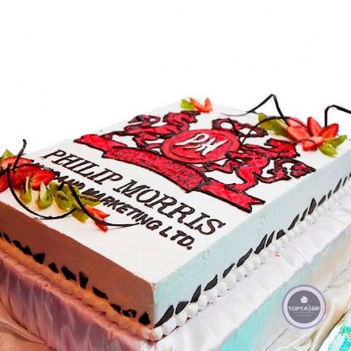 Корпоративный торт Philip Morris