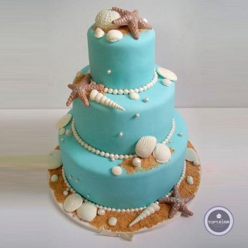 Свадебный торт - Ракушка