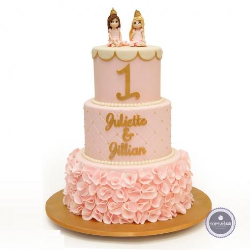 Детский торт - Две милашки