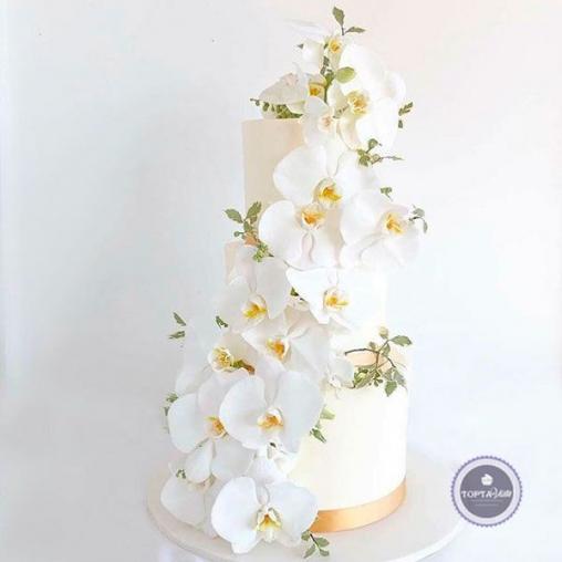 Свадебный торт Аделия