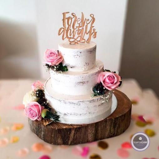 Свадебный торт - Берёзка