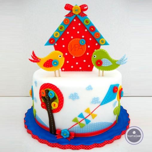 Детский торт - Доброе утро