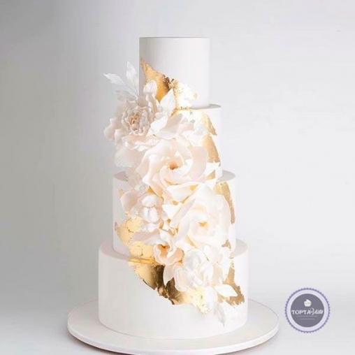 Свадебный торт Поцелуй