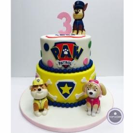 Детский торт Патруль