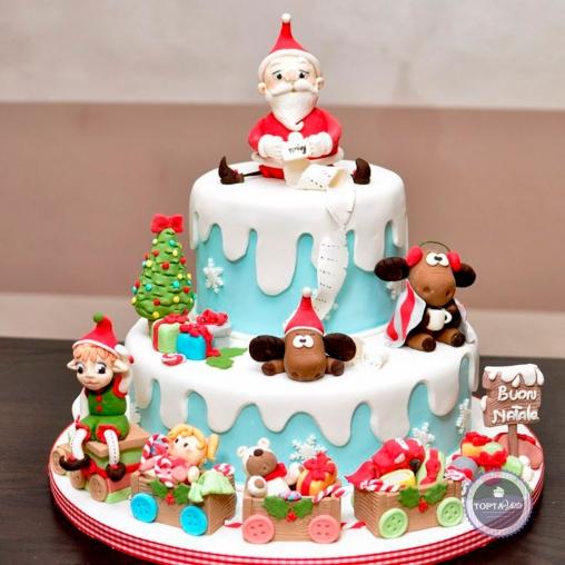 Новогодний торт - Подарки на Рождество