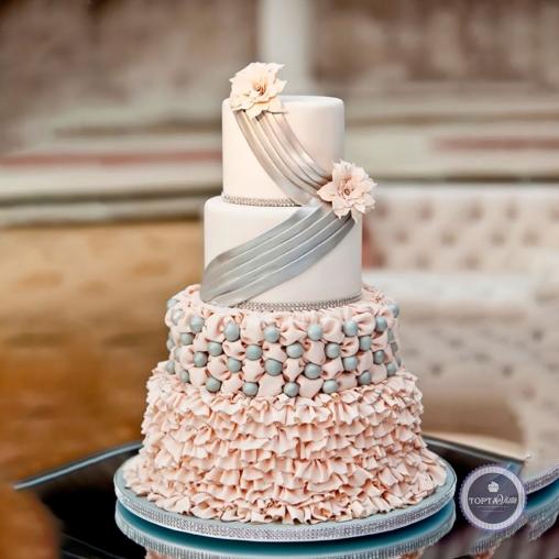 Свадебный торт - Жемчуг