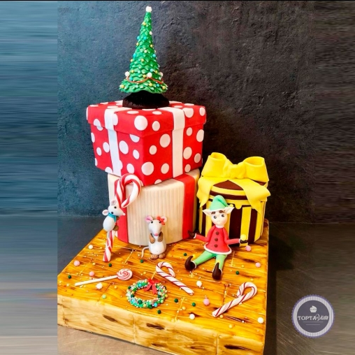 Новогодний торт - Добрый день