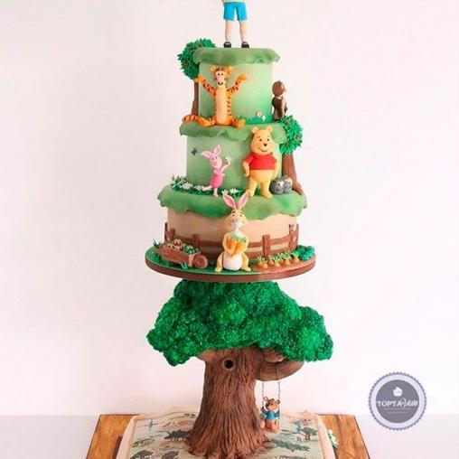 Детский торт Домик на дереве