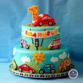Детский торт - Веселый светофор