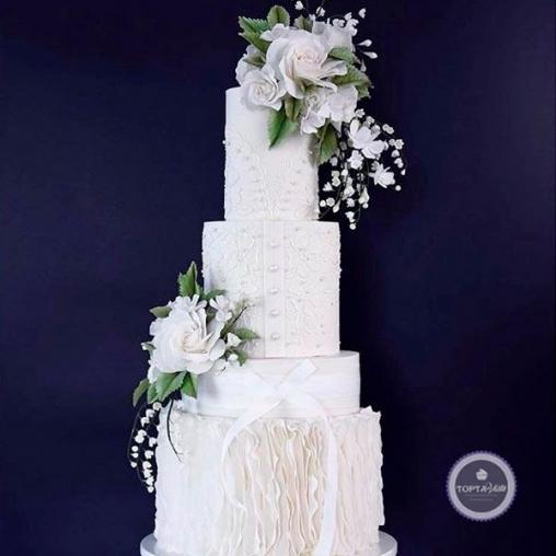 Свадебный торт Невеста 2