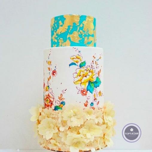 Свадебный торт Милашка