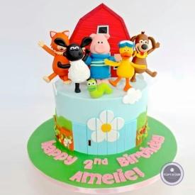 Детский торт - Винни и друзья