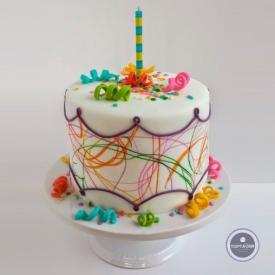 Детский торт - Паутинка