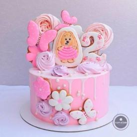 Детский торт - Пышка
