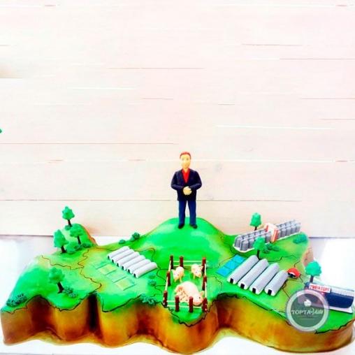 Корпоративный торт Мой путь