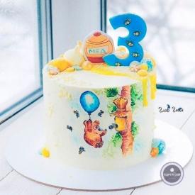 Детский торт - Медовый