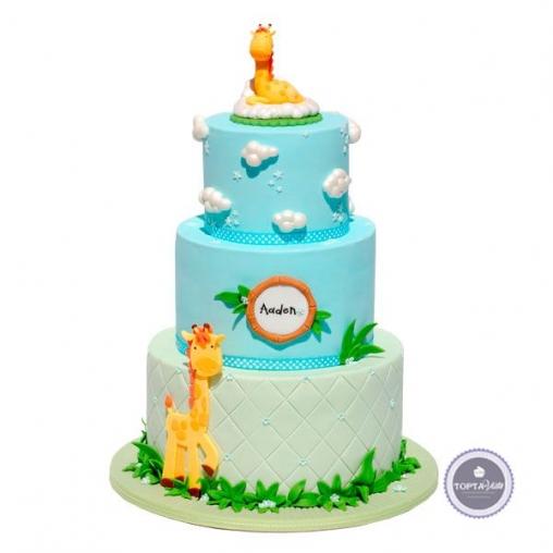 Детский торт Жирафчик