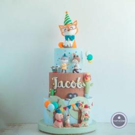 Детский торт - Петрушка 2
